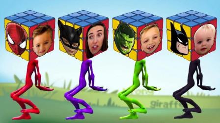超级英雄游戏:完美的面具匹配