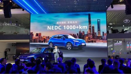 赛力斯华为跨界融合 上海车展推出高性能电驱轿跑SUV