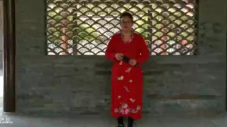 安红艳在鸟巢四合院演唱豫剧花打朝选段