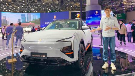 可能最先量产 上海车展赵璞带你打开车门看看恒驰5