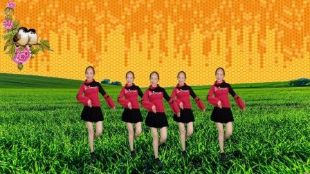 超嗨潮流动人网红广场舞《昨夜有人在流泪》,燃脂舞蹈好看好学!