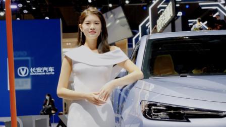 无滤镜无美颜!上海车展的车模有多美?