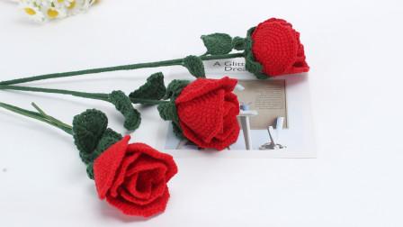 送你们一朵美丽的玫瑰花