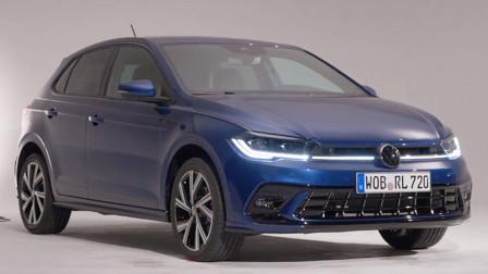 2021款大众Polo展示,外观内饰全新升级,拿到钥匙坐进车内太帅了