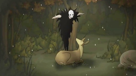 死神爱上了一只母鹿,每天为它遮风挡雨,却永远不敢触碰对方