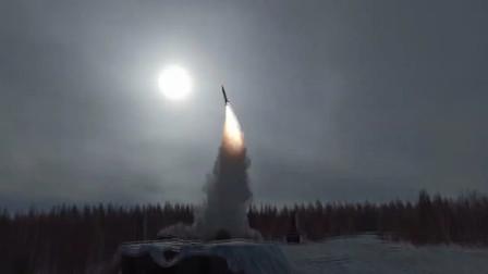 俄罗斯进行S-400防空系统射击训练(3313)