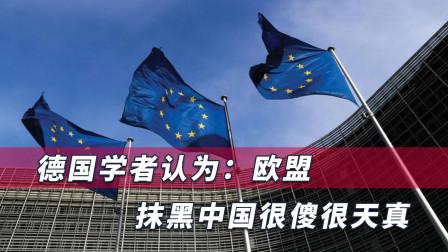 欧盟配合美对华实施制裁,德专家警告:很傻很天真,遭更严厉回击