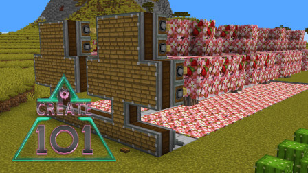 Create101《Ep30 红心果树树场》我的世界机械动力多模组生存实况视频 安逸菌解说