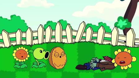 植物大战僵尸动画:辣椒僵尸把自己炸了