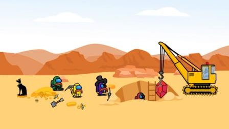 船员在沙漠中挖掘到红宝石宝藏