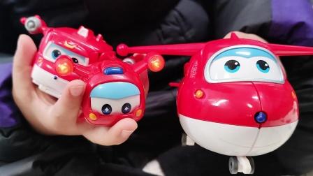 超级飞侠乐迪玩具 乐迪变形机器人 乐迪超级包裹 乐迪萌宠乐宝
