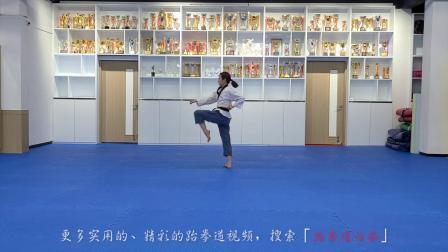 高水平太白黑带品势,韩国最强女初中生又来了!