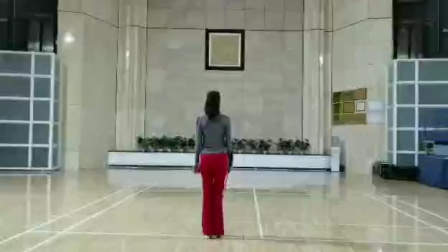 柔力球第九套规定套路《大美中国-山东篇》陈重玲背面(口令)