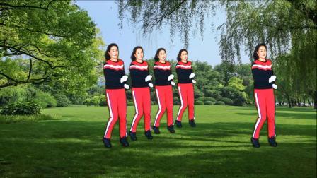 河口轻舞飞扬健身操第21-5 跳跃运动 教学演示