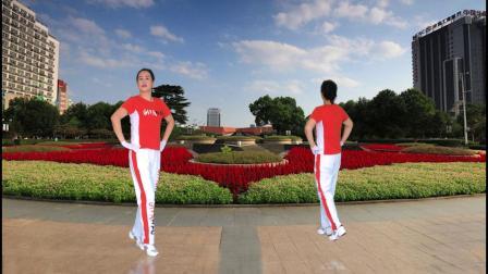 河口轻舞飞扬健身操22-11整理运动正背面演示