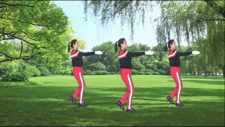 河口轻舞飞扬健身操第21-1 热身运动 教学演示