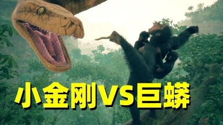 人类起源06:我带领猴群大战非洲巨蟒,血染非洲大草原!