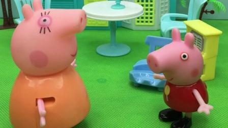 猪妈妈想要佩奇变优秀,就一直让佩奇练琴,猪妈妈真是良苦用心