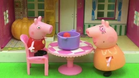 猪妈妈的手艺很不错,每天都给佩奇准备不同晚餐,真是太棒了