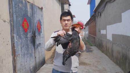 """来朋友家买只公鸡,阿远煲道""""鸡汤""""补补,老妈忍不住夸:好汤"""