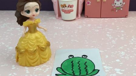 白雪愿意帮助贝儿找青蛙王子,白雪好善良!