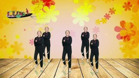 16步广场舞《冬天里的一把火》,歌好听舞好看 简单好看又好学