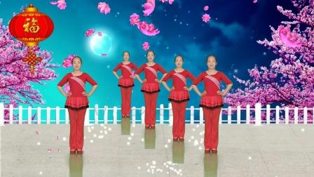 歌好听舞好看的《玫瑰花儿开》, 简单好看又好学