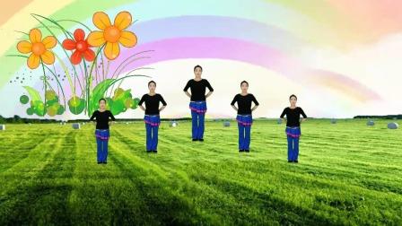 燃脂健身操《黄土之恋》有朝气的一支舞充满了正能量