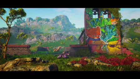 最新功夫奇幻RPG网游《生化变种BIOMUTANT®》预告CG 5月26日上市