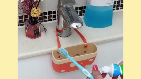 水槽沥水小挂篮,小杂物随手放,顺手实用