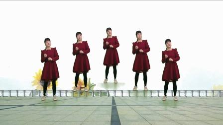 广场舞《红枣树》零基础教学,简单好看又好学