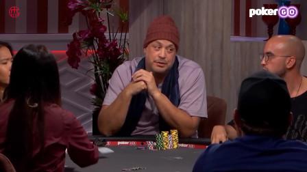 德州扑克:女玩家狠起来解说都怕