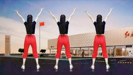 提高心肺功能,促进机体代谢,跳健身操《社会主义好》
