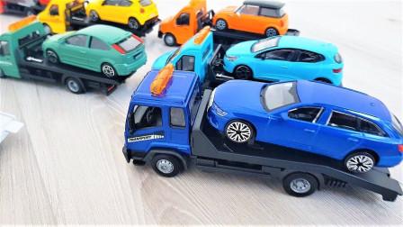 新款汽车玩具拆箱试玩