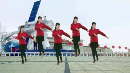 动感情歌广场舞《酒醉的雨滴》,欢快旋律,歌好听,舞好看
