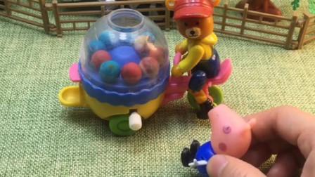 乔治想买大白菜,天天骚扰熊大叔,熊大叔快要发脾气了!