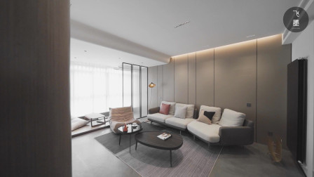年轻人的理想住宅,都在这套127㎡里了!简约、高级、舒适