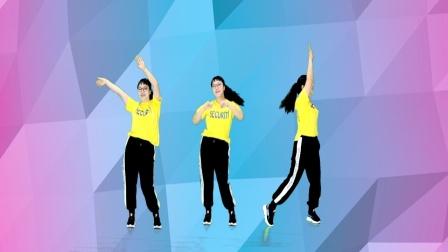 莎啦啦原创舞步健身操第13套 第7节 正面演示