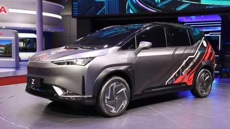 Z世代座驾 合创汽车全新车型亮相上海车展