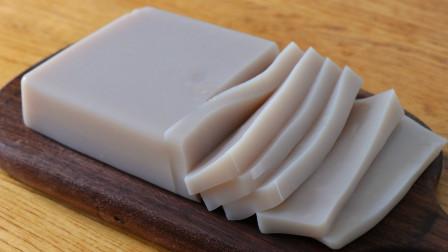 手工凉粉+碗托:用荞麦米制作,无任何添加,劲道爽滑,做法简单