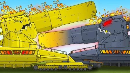 巨型坦克的战斗