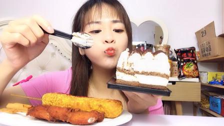 提拉米苏 芝士棒 骨肉相连 一口奶油 一口芝士棒 太香太好吃了!