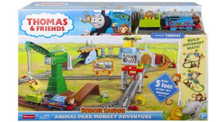 托马斯玩具 动物公园猴子冒险