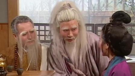 神雕侠侣:郭襄被金轮法王抓走,黄蓉请老顽童和一灯大师出山救人