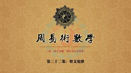 《周易术数学》(新版)第二十二集:干支规律