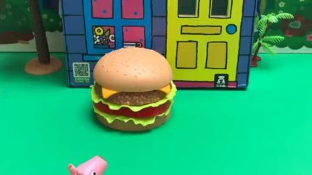 玩具乐园:海绵宝宝我要吃汉堡