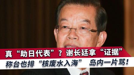谢长廷出卖台湾助日,岛内民众惊呼真开了眼界,国民党质问蔡英文