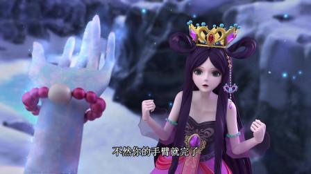 叶罗丽:王默被冰雪反噬,就算这样,王默也不会放弃的!