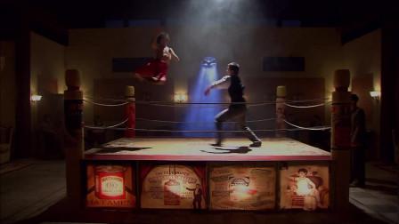 最后一枪:地下拳手挑战小伙,没想到两招就被KO,遇到高手了这是