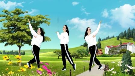 莎啦啦原创舞步健身操第13套 第9节 正面演示